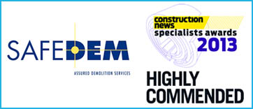 Construction News Specialist Awards 2013 – Highly Commended