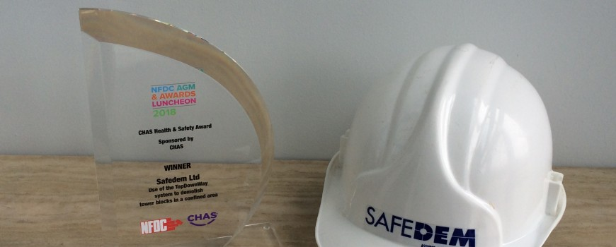 Safedem win Safety Award